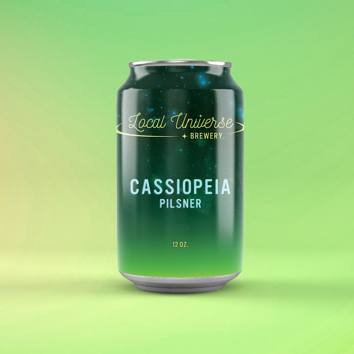 Cassiopeia Pilsner Can